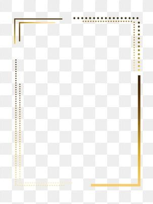 Hot Stamping Simple Year Poster Border Png Download Hot Stamping Frame Texture Golden Gradient Gradient Frame Png Transparent Clipart Image And Psd File For In 2021 Frame Border Design Simple