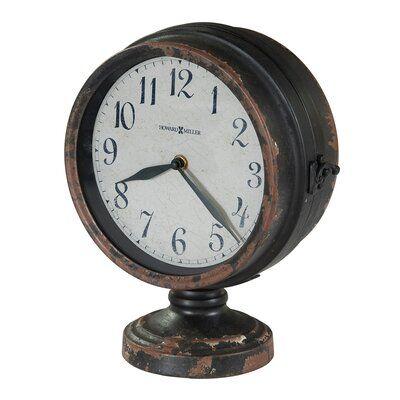 Howard Miller Cramden Tabletop Clock Tabletop Clocks Clock Mantle Clock