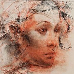 32f4e38874b5df65f0e29b7ac03e5e23 » Famous Conte Crayon Drawings