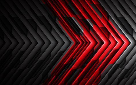 Pin En Supreme Wallpaper negro y rojo hd