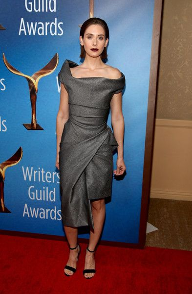 Alison Brie attends the 2018 Writers Guild Awards L.A. Ceremony.