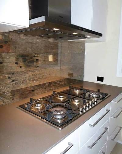 Weathered Face Sleeper Kitchen Splashback With Recycled Timber Newcastle Nsw Kitchen Splashback Timber Kitchen Recycled Wood Projects
