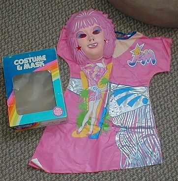 Remember when your costume would come with these plastic masks?? I remember that smell ANYWHERE!