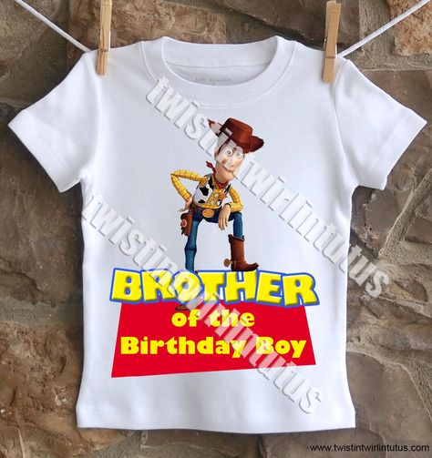 Toy Story Brother Shirt - 12M Carter's onesie / Long Sleeve