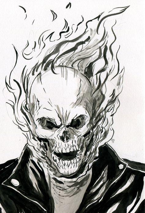 Ghost Rider by Rethalia Prime on deviantart