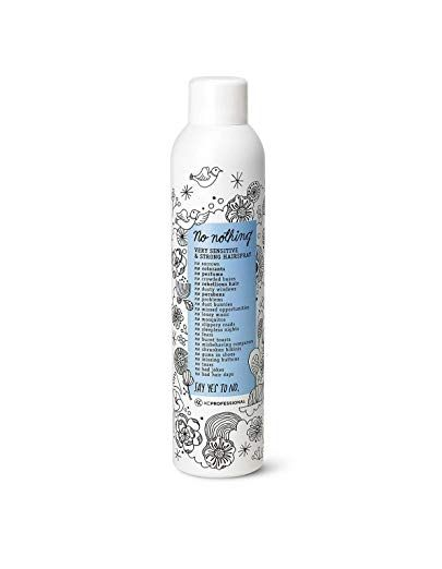 No Nothing Very Sensitive Strong Hairspray Fragrance Free Strong Styling And Finishing Spray Hypoallergeni Fragrance Free Products Finishing Spray Fragrance