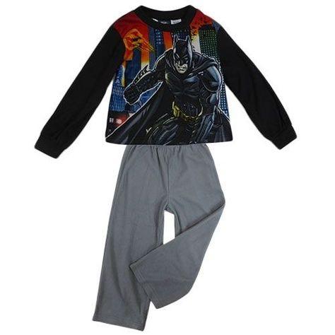 Offiicial Licensed Boys Batman Dark Pyjamas PJs Nightwear Kids  Age 4-5 Years