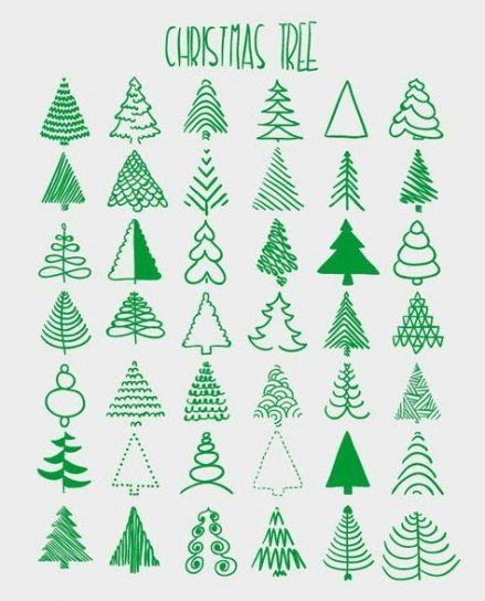 62 Trendy Christmas Tree Drawing Artists Christmas Cards Handmade Christmas Drawing Christmas Doodles
