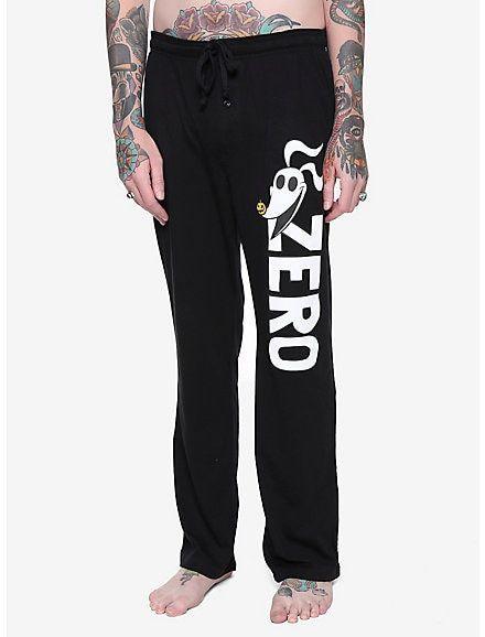 Hot Topic Nightmare Before Christmas Pajamas.The Nightmare Before Christmas Zero Guys Pajama Pants Black