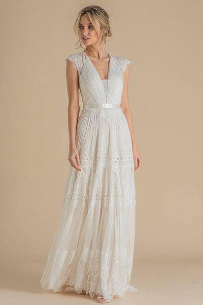 Hippi Hochzeitskleider Brautkleid Hippie Kleider Hochzeit Hochzeitskleid