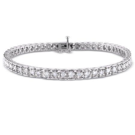 Diana M. Jewels 18k AGI Certified Diamond Bracelet Qv7SAf2