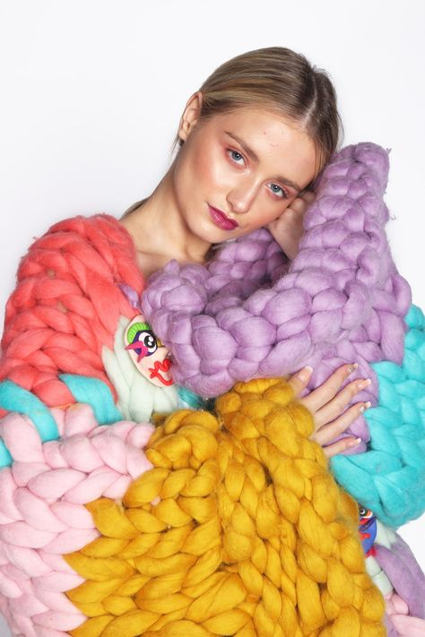 The Mythical Beings Knitted Coat