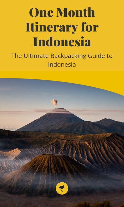 One Month Itinerary for Indonesia - The Ultimate Backpacking Guide to Indonesia - One does not simply travel to Indonesia once. Trust me, I have been to Indonesia 5 times and have yet to see them all. Indonesia is so diverse that you can experience almost everything you look for in a trip in this country alone. From hiking volcanos to swimming with... #destinations #indonesia #flores #asia #itinerary #kelimutu #moni #ende #ruteng #bajawa #maumere