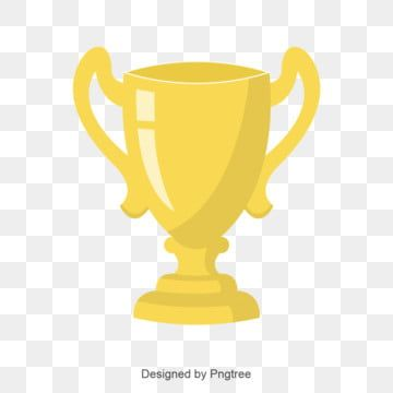 Flat Trophy Vector Flat Trophy Trophy Cup Png And Vector With Transparent Background For Free Download Vector Trophy Design Trophy
