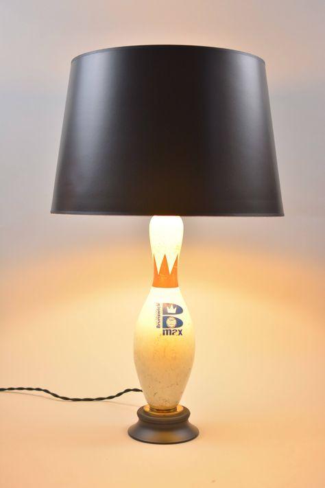 Bowling Pin Lampe