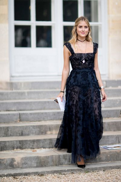 Classic Dress - The Best Outfits Worn to Paris Fashion Week - Photos