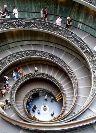 Insider tip: The Vatican's Simonetti staircase is open to the Greek Cross room each morning. If you're visiting early enough, you can descend the spiral staircase and walk straight through to the Sistine Chapel to see it almost empty.