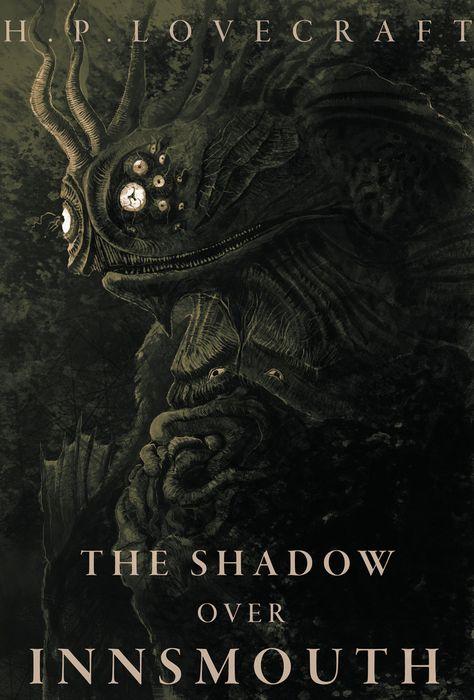ArtStation - The Shadow Over Innsmouth Cover, Joe Grabenstetter