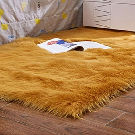 Luxury Rectangle Artificial Wool Sheepskin Soft Fluffy Area Rug White Fur Carpet Shaggy Long Hair Solid Mat Home Decor CarpetStyle: EuropeTechnics: Machine MadeShape: RectangleUse: homeDesign: Solidis_customized: YesWash Style: Hand WashModel Number: FYM-01Decoration Style: ModernPattern Type: SolidPlace: ParlorMaterial: 100% AcrylicModes of Sale: Sell by piece