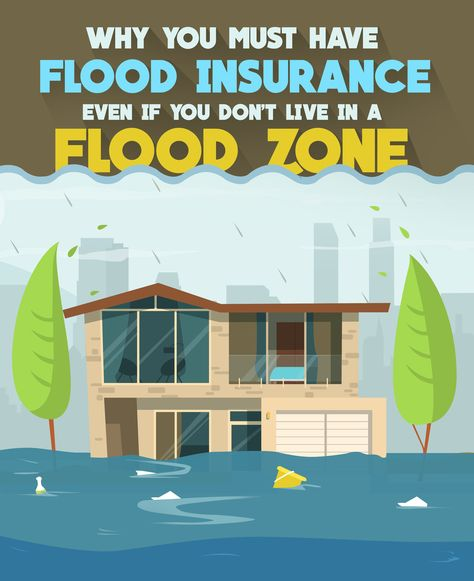 Why You Must Have Flood Insurance Even If You Don T Live In A Flood Zone Flood Insurance Flood Zone Flood