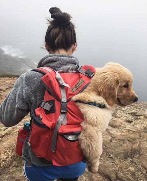 Adventuring with that friend who's always got your back. (Photo via Instagram: the___goldengirls) L.L.Bean Continental Rucksack