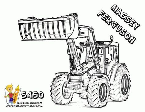 Coloriage De Tracteur Fendt Tractor Coloring Pages Coloring