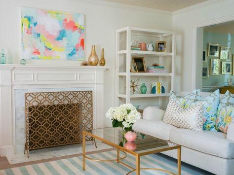 A Balanced Pattern Recipe #livingroomideas #decortips