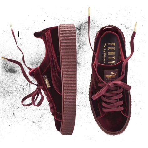 """Puma X Rihanna creeper fenty """"velvet pack"""" www.sneakupstore.com ... e48dc92e9"""