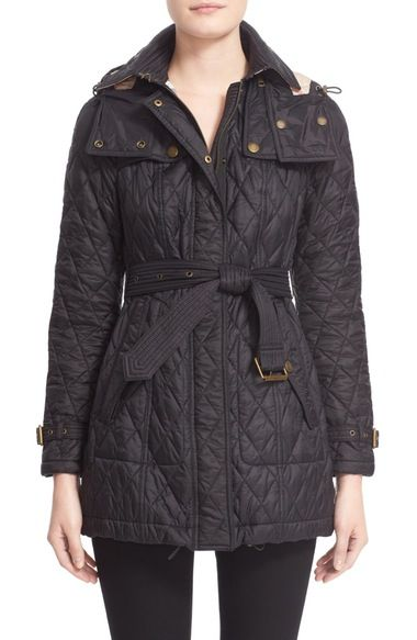Burberry Finsbridge Belted Quilted Jacket Quilted Jacket Burberry Quilted Jacket Burberry Jacket