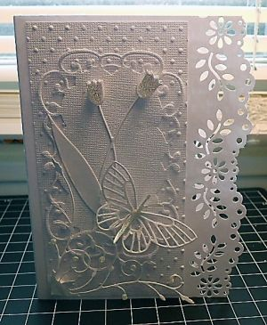 White on White by RIRed2 - Cards and Paper Crafts at Splitcoaststampers by Hilary1949