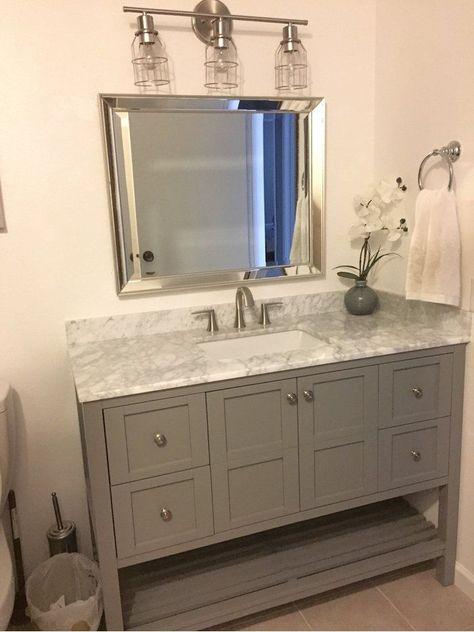 "Caldwell 48"" Single Bathroom Vanity Set"