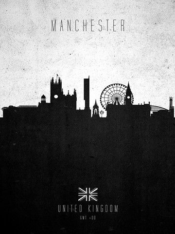 Manchester: GMT +00 CONTEMPORARY CITY SKYLINES