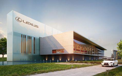 Lexus Showroom | Wasib Mahmood | Archinect