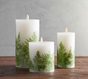 Premium Flicker Flameless Wax Candle