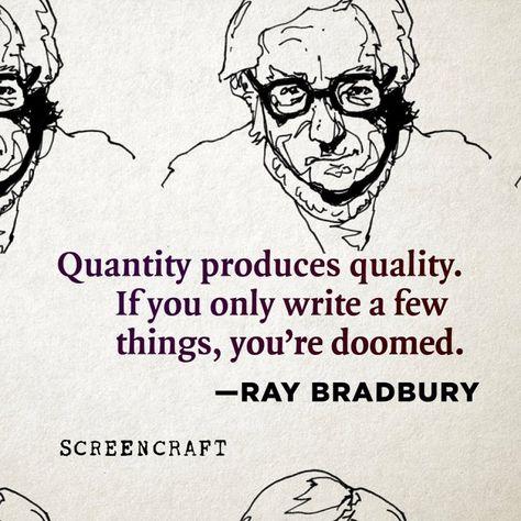 Quotable – Ray Bradbury - Writers Write