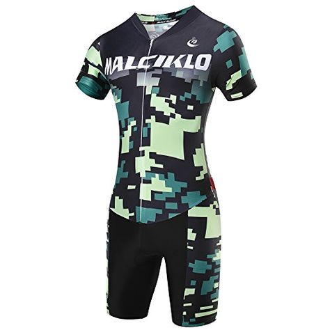 Outdoor Sports Mens Cycling Suit Bicycle Jersey Shorts Jumpsuits