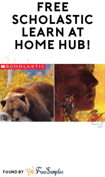 Free Scholastic Learn At Home Hub In 2020 With Images