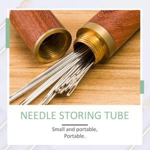 Self Threading Hand Needles Stitching Pins Household Hand Sewing Needles Sewing Machine Needles 24pcs