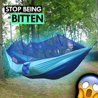 Enjoy The Outdoors Bug-Free With The EAGLE TIGRIS® Premium Hammock. (Tested by outdoor enthusiasts)