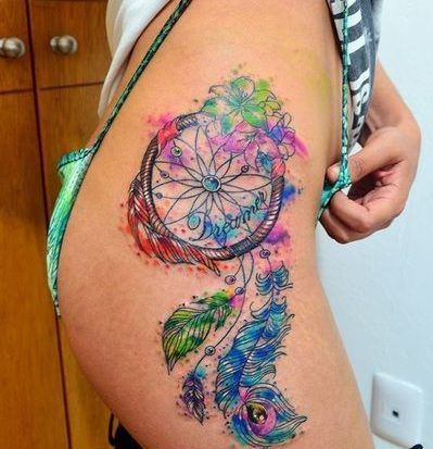 Pin En Tatuajes De Atrapasueños