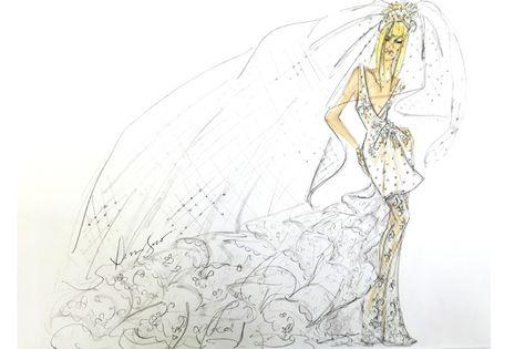 43768f6114c List of Pinterest lady gaga fashion illustration wedding gowns ...