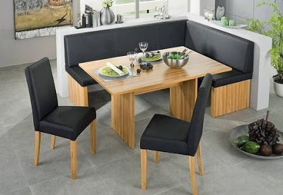 Booth Style Dining Room Sets | Corner dining table, Corner ...