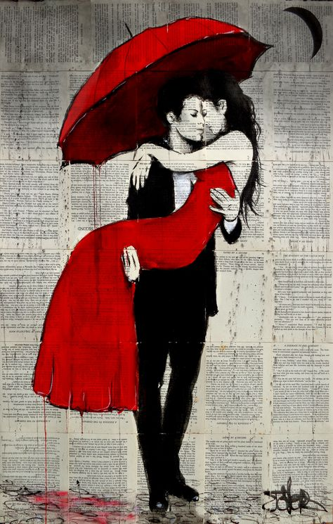 (CreativeWork) SWEPT AWAY by loui jover. drawing. Shop online at Bluethumb.