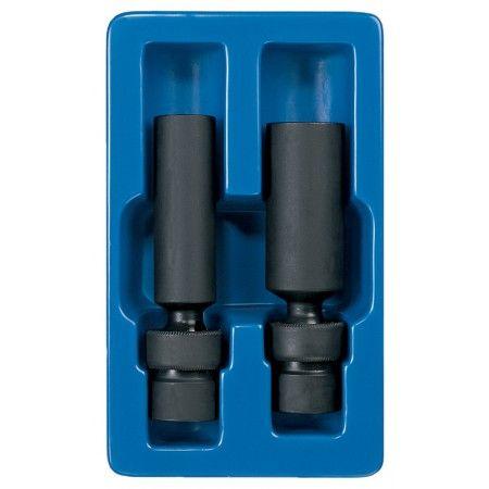 3 8 Drive Universal Swivel Spark Plug Socket Set Sae Plug Socket Socket Set Spark Plug
