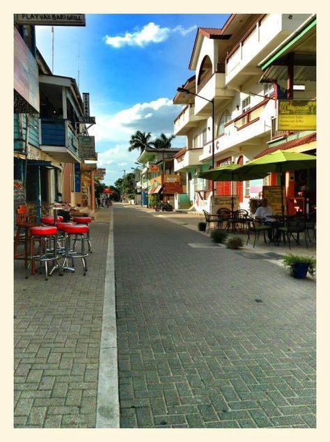 Burns Avenue, San Ignacio, Belize. Great place to spend the day in town #belizetravel #destinationbelize