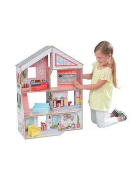 شراء لعبة بيت باربي فيرونيكا من ماركة كيد كرافت أونلاين سبري الإمارات Built In Bookcase Kidkraft Doll House