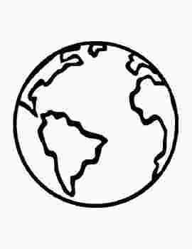 Earth Outline Coloring Page Earth Coloring Pages Earth Day Coloring Pages Earth Day Drawing