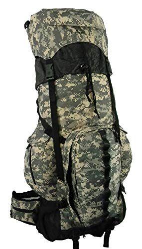 Expandable Hiking Backpack Large 6000ci 8000ci Camping Backpack Scout Daypack Aluminum Frame Sport Pack Ou Best Hiking Backpacks Big Travel Bag Hiking Backpack