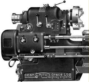 Dean Smith Grace Lathe In 2019 Lathe Machine Machine Tools