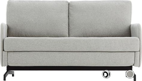 Made Hail Grey Sofa Bed Compact Sofa Bed Sofa Bed 2 Seater Grey Sofa Bed